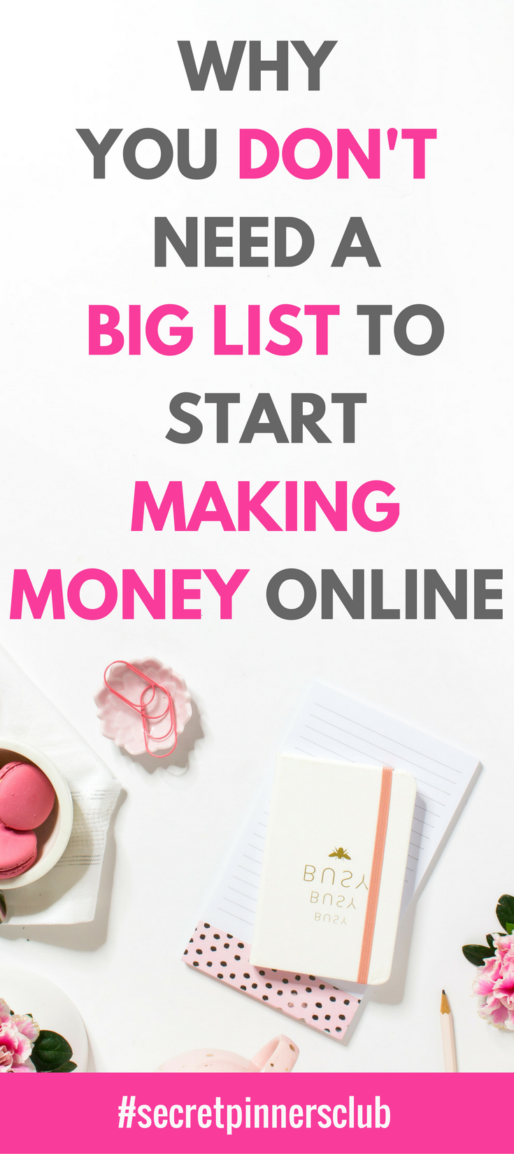 make big money online why you don t need a big list to start making money online 8580